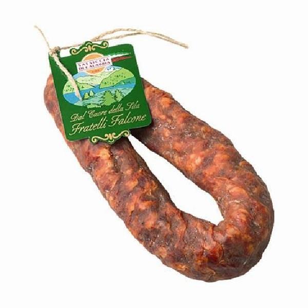 Salsiccia stagionata piccante D.O.P. ca. 350 gr. Salumificio Sila  ( Kühlartikel)