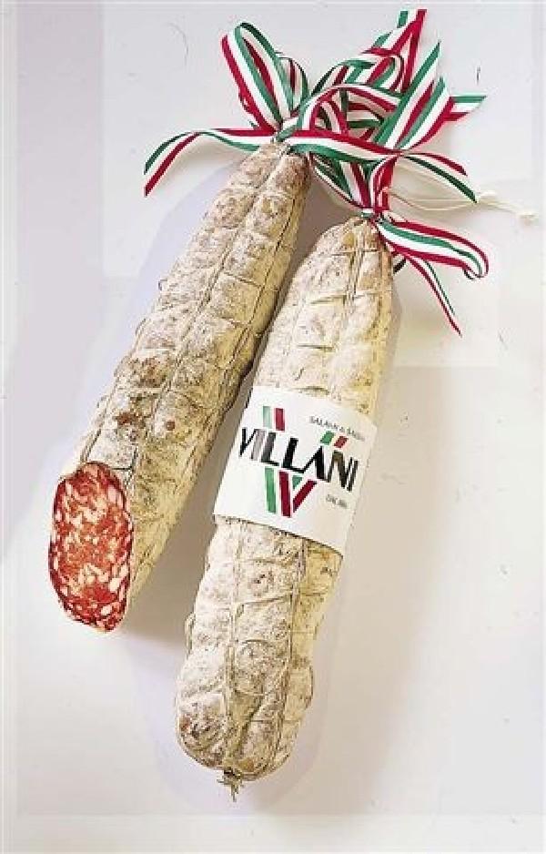 Salame Friulano ca. 0,900-.1,3 kg Villani Salami aus Friaul  ( Kühlartikel)