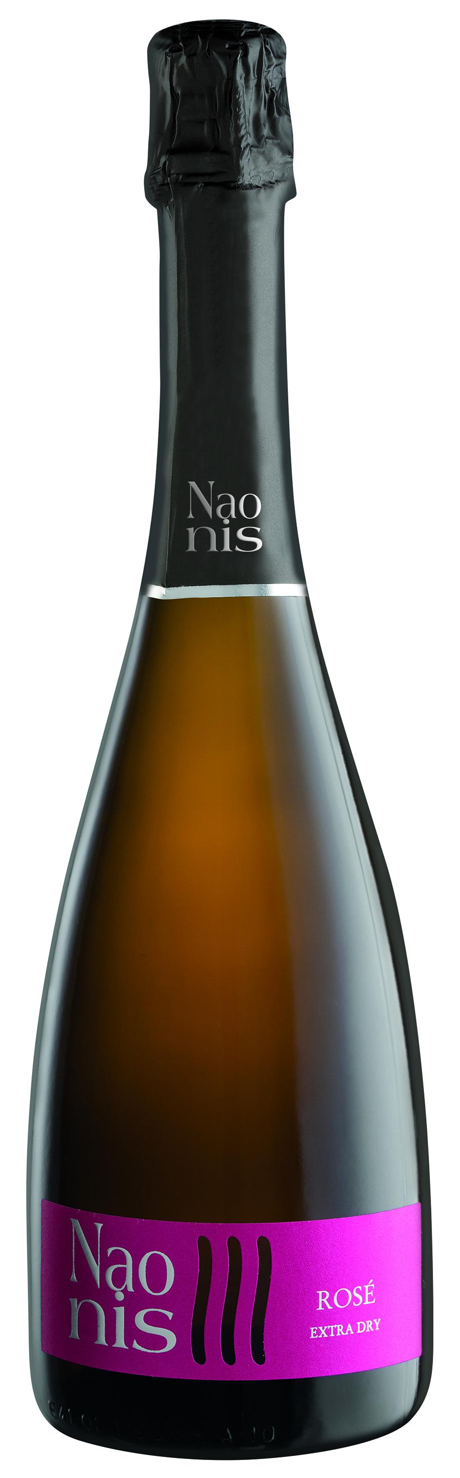 """""""Naonis"""" Vino spumante rosé extry dry, 750 ML La Delizia"""