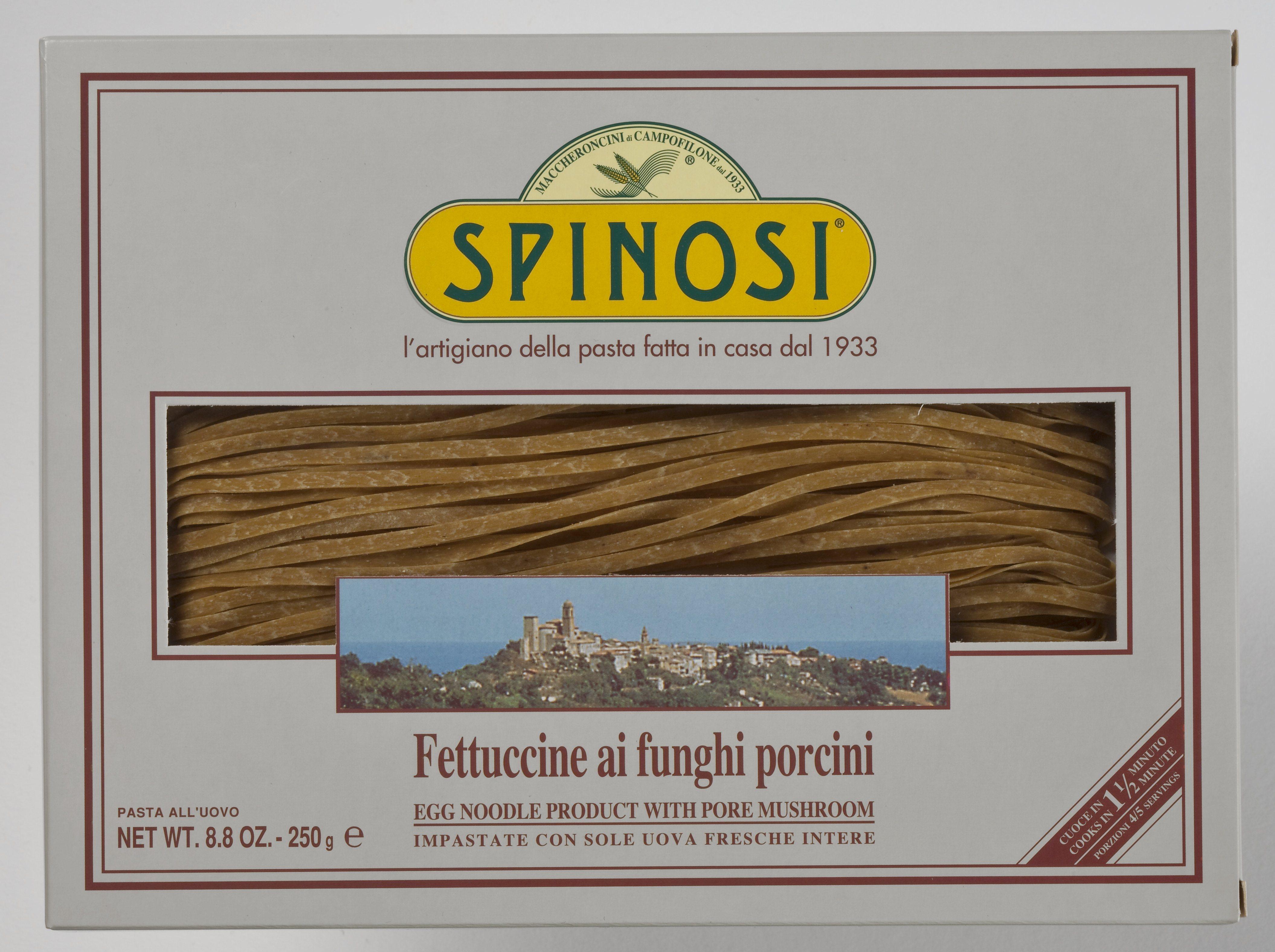 Fettuccine ai funghi porcini 250 g Spinosi
