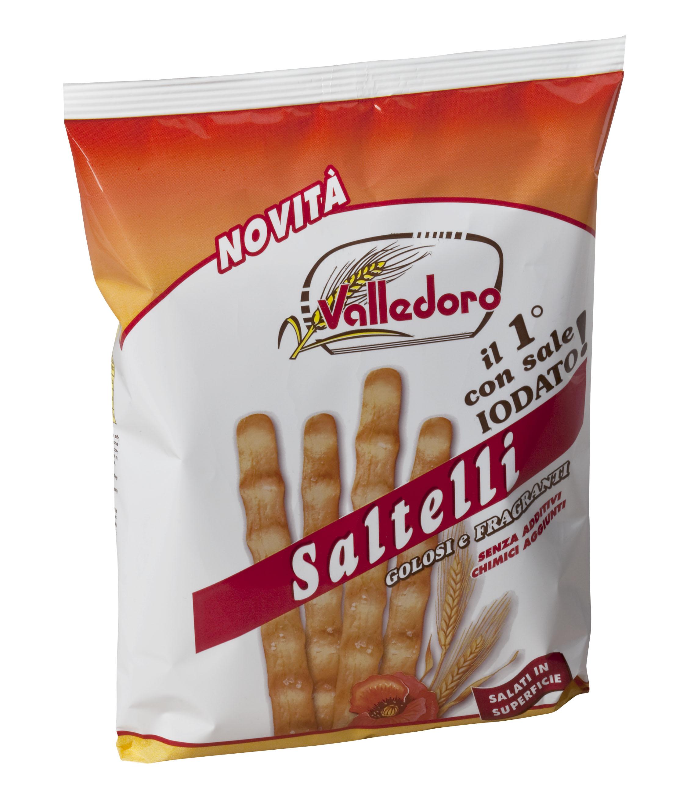 Grissini saltelli, 250 g Beutel Valledoro