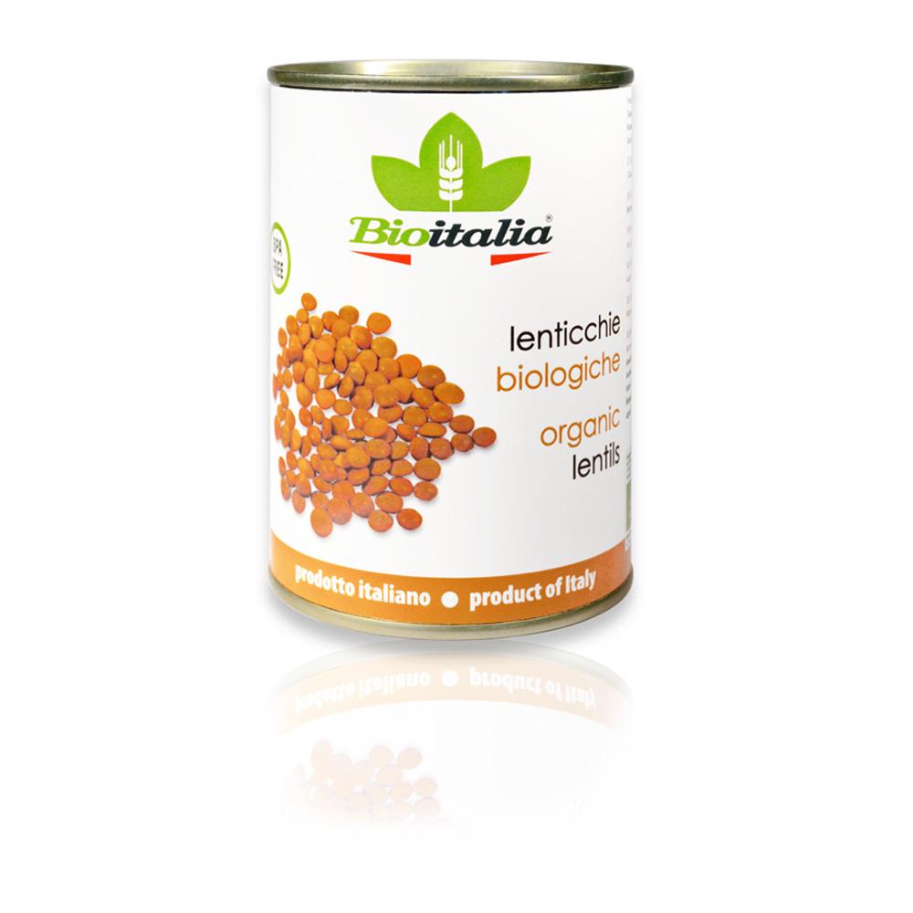 Lenticchie bio 400 g Dose Bioitalia