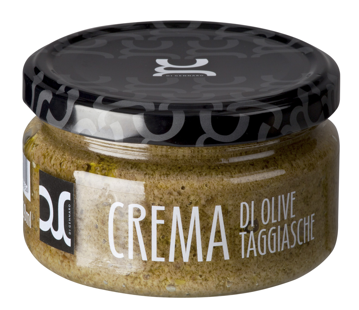 Crema di olive Taggiasche 228 ML Glas DIGE