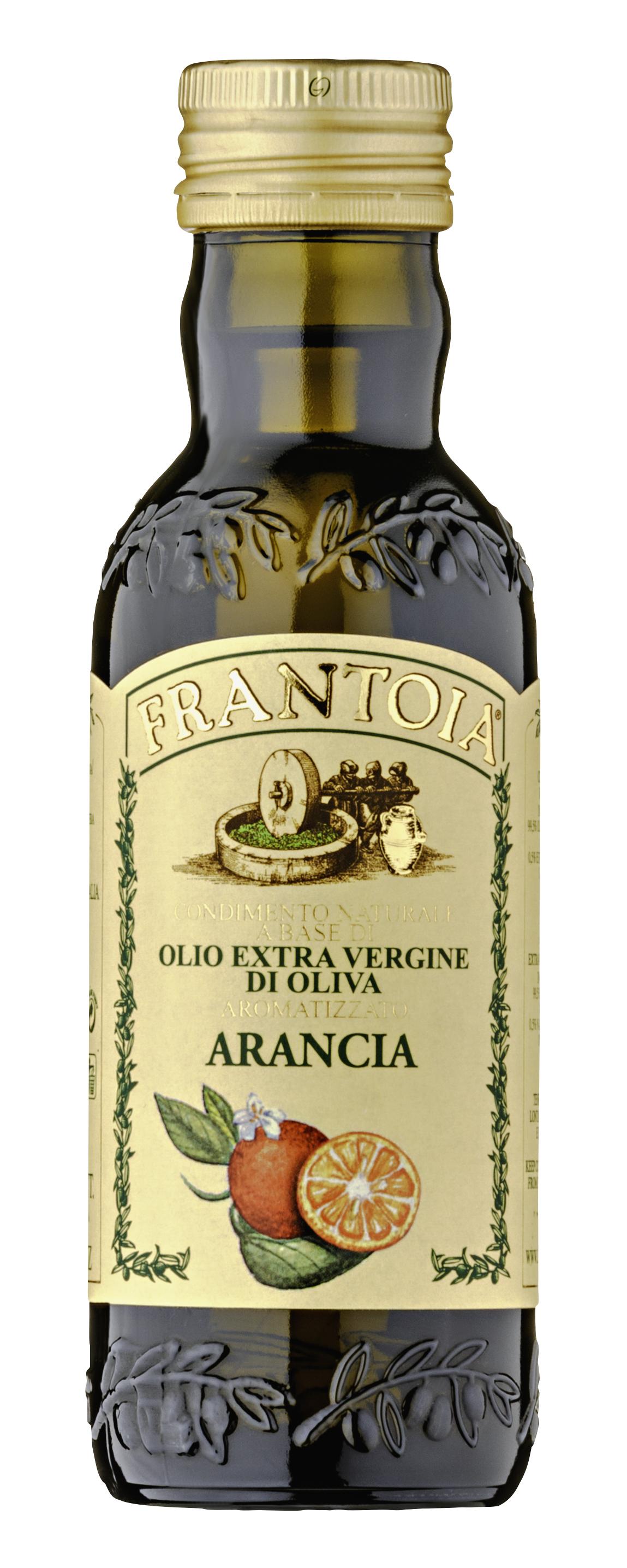 """""""Frantoia"""" olio e.v. aromatizzato all'arancia 250 ML Barbera"""