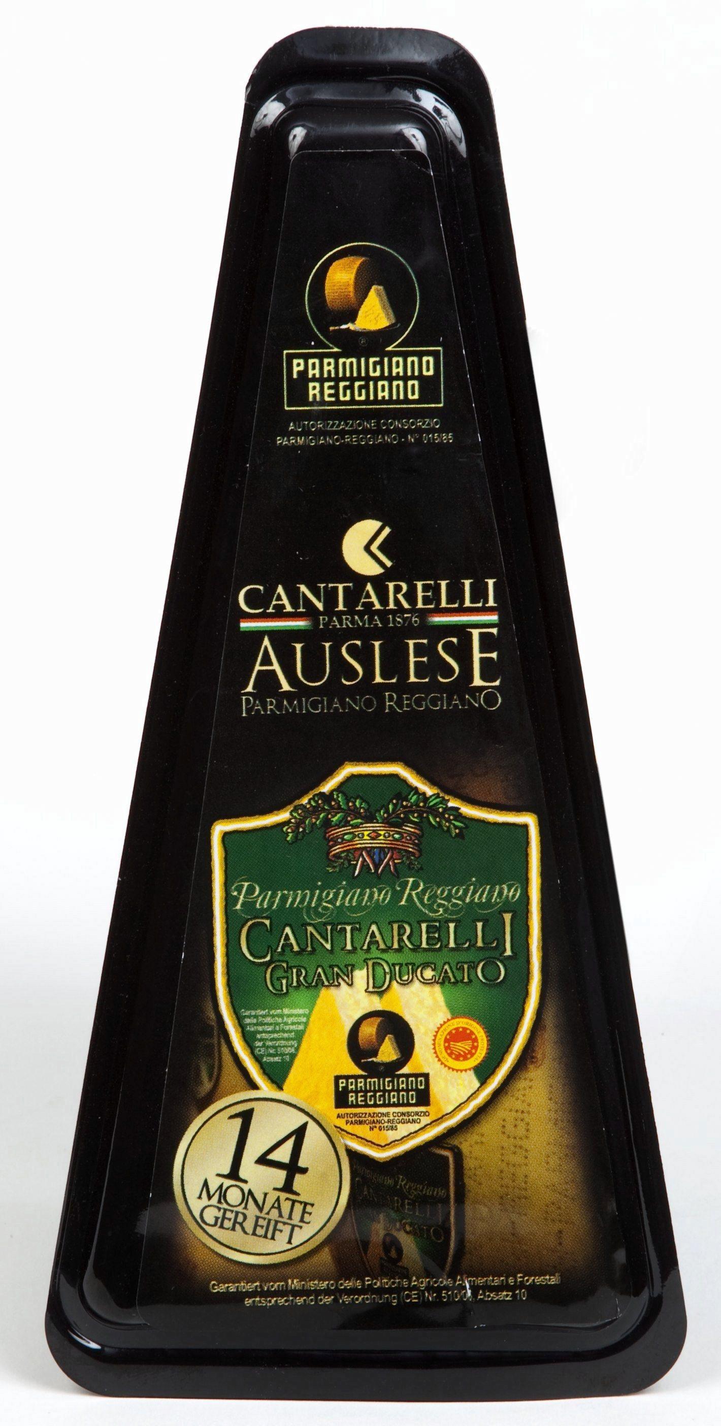 Parmigiano Reggiano Granducato 14 mesi 200 g Cantarelli Parmesankäse 14 Monate gereift  ( Kühlartikel)