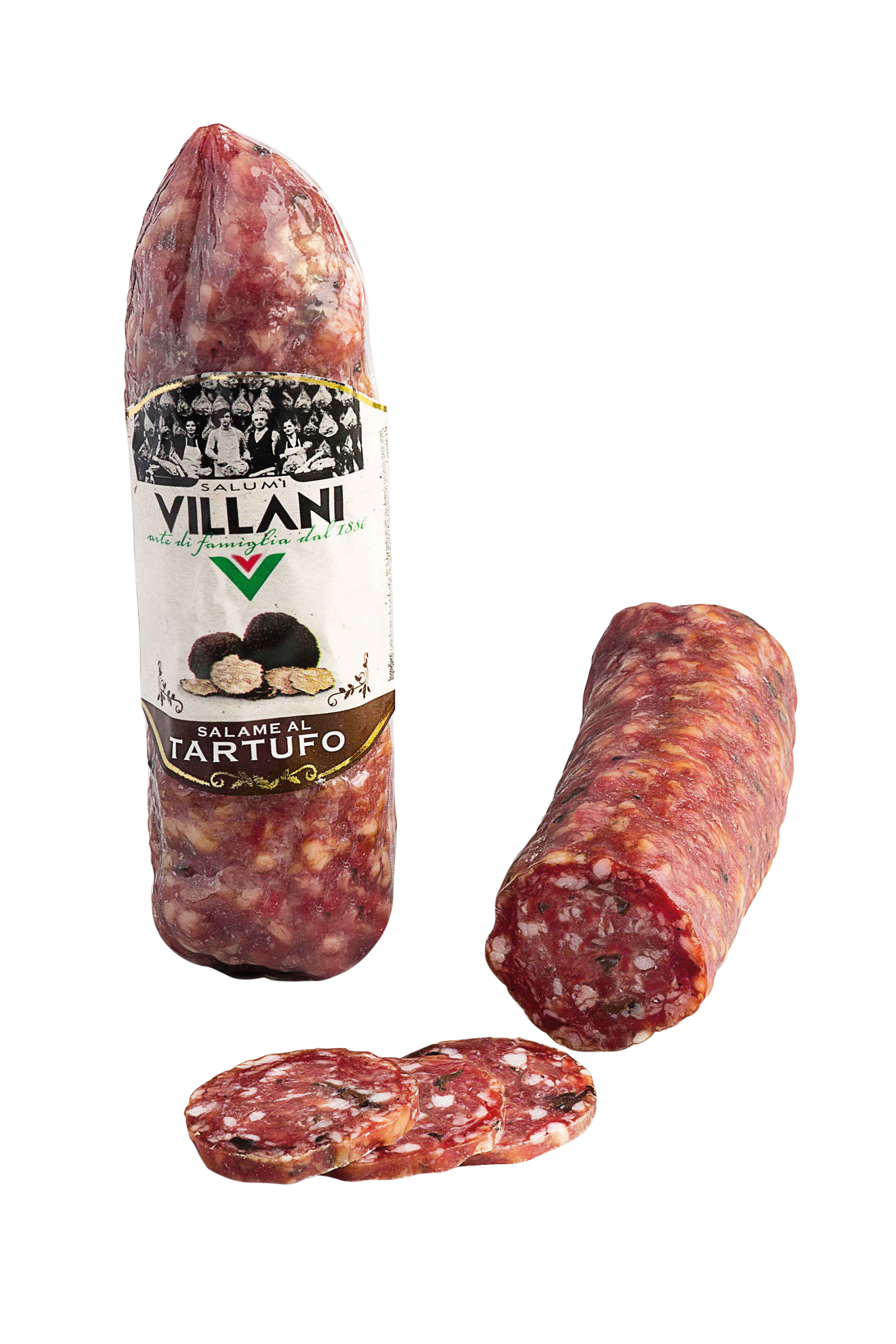 Salame al tartufo sottovuoto 220 g Villani