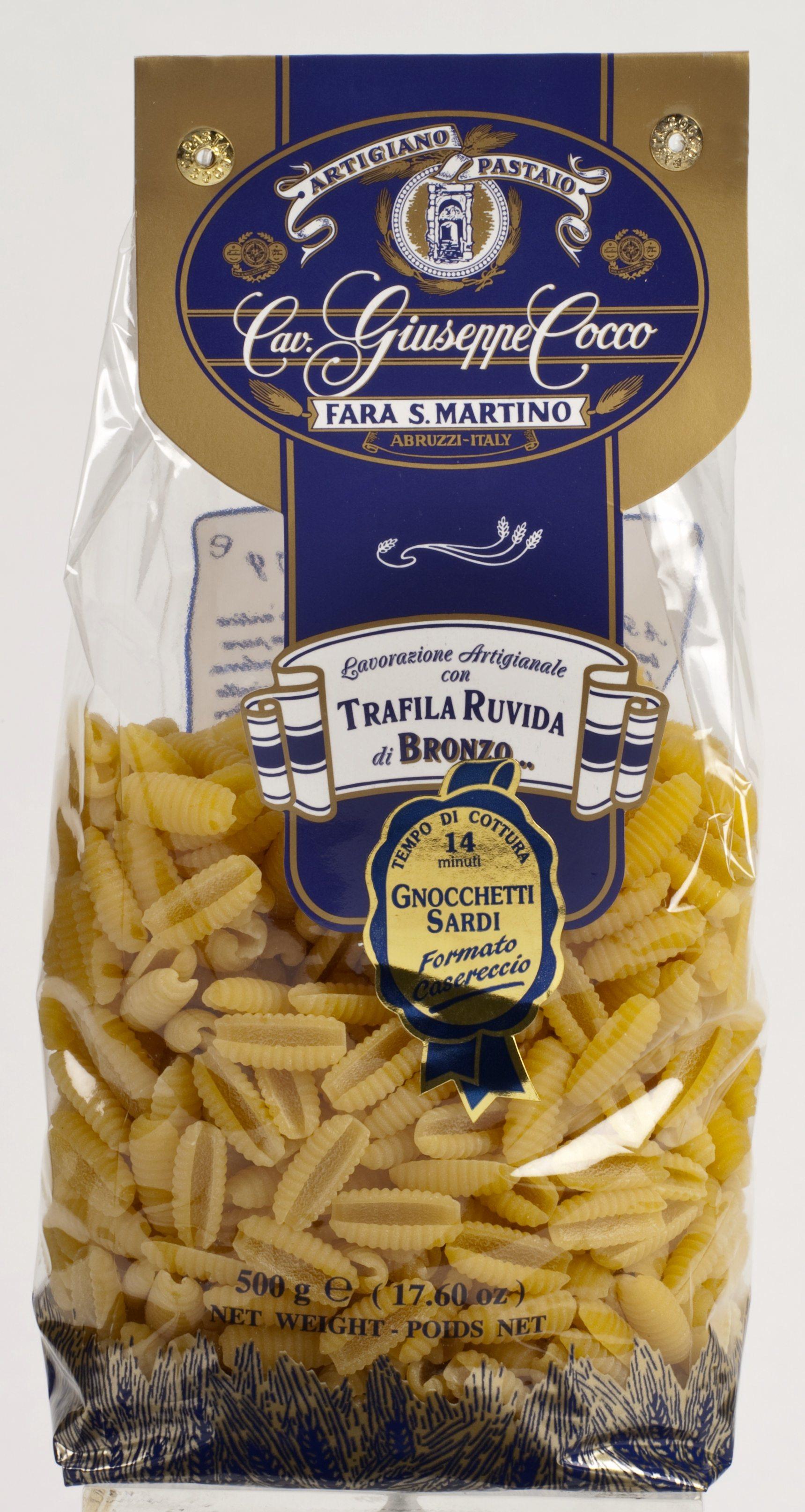 Gnocchetti Sardi Nr. 60 500 g Packung Cocco