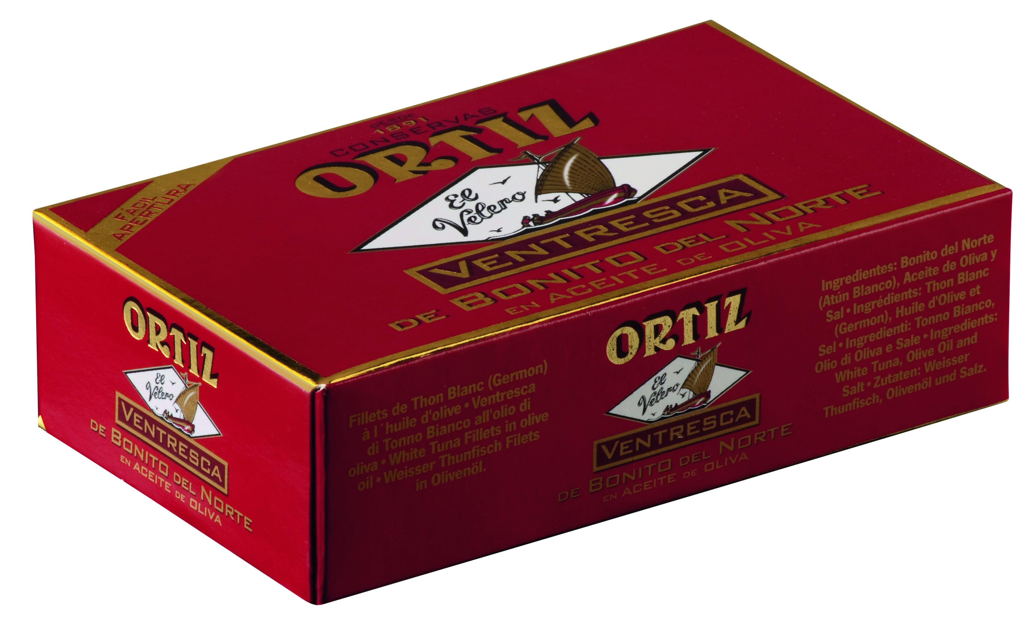 Ventresca di tonno bianco all olio d'oliva 110 g Dose Ortiz