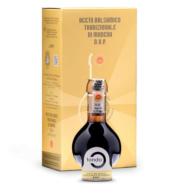Tondo Aceto Balsam. Trad. Modena DOP Extravecchio 100 ML Nero Modena