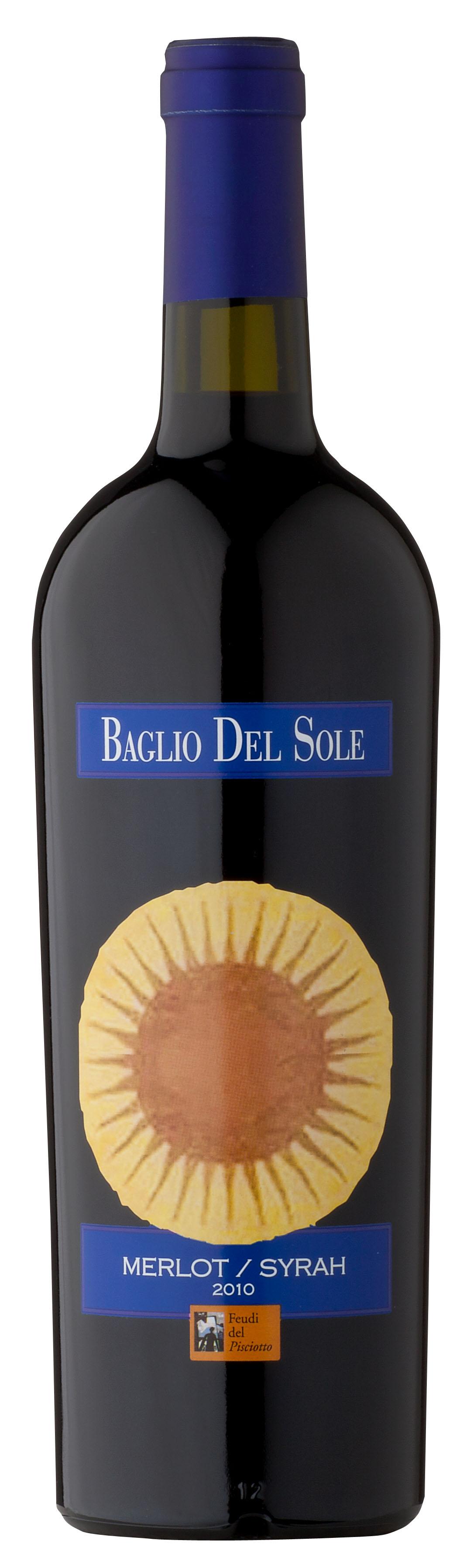 """Baglio del Sole"" Merlot & Syrah Terre Siciliane 2017 750 ML Feudi del Pisciotto"