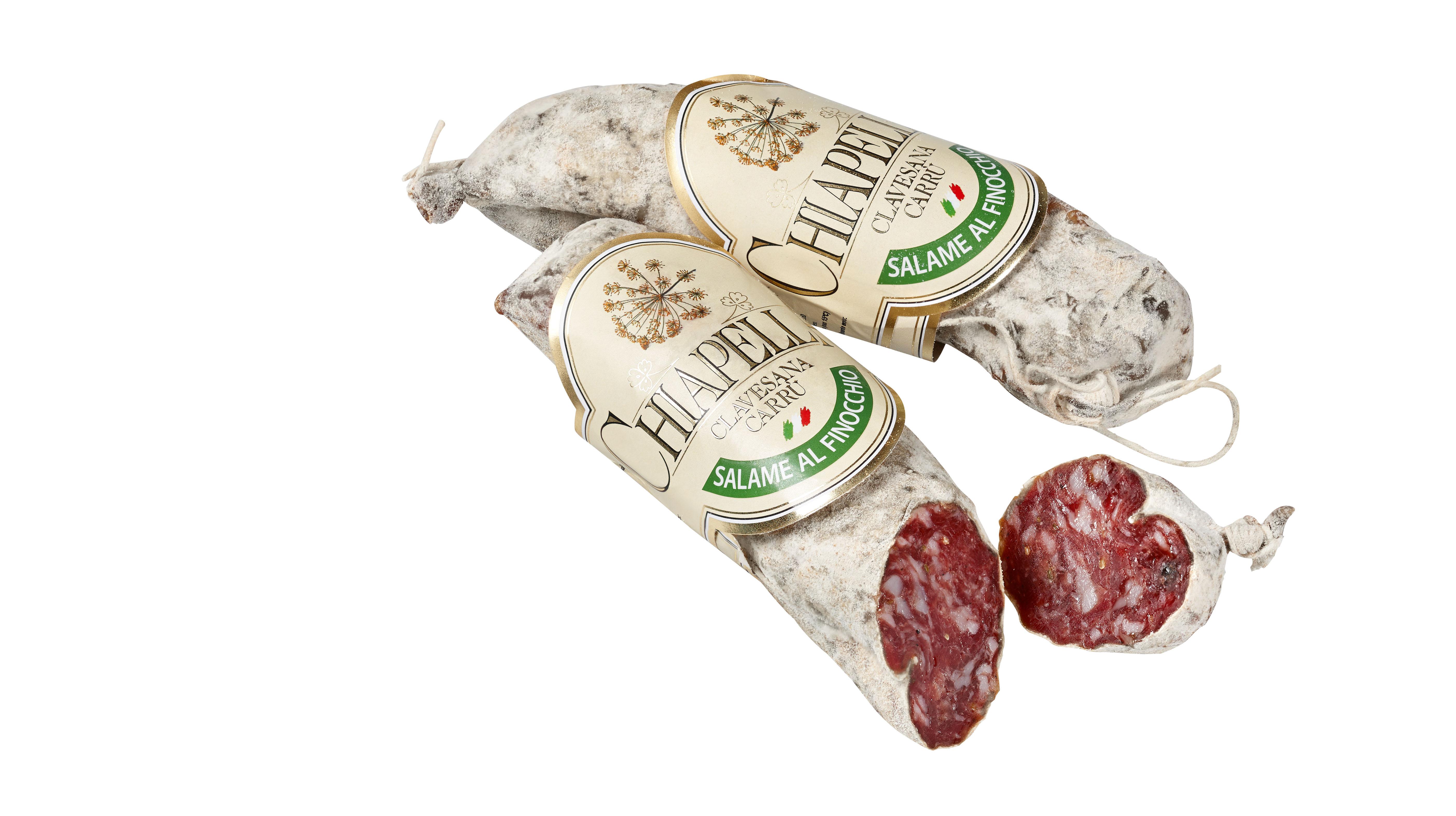 Salame con finocchio  ca. 200 g Chiapella  ( Kühlartikel)