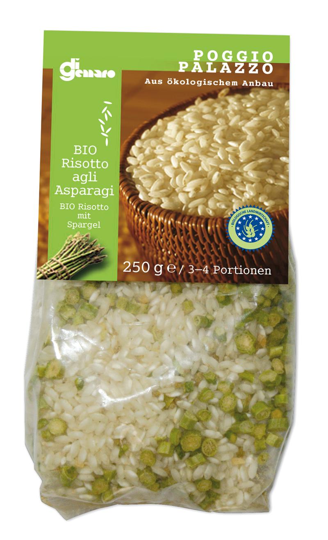 Risotto agli asparagi bio 250 g Belvedere