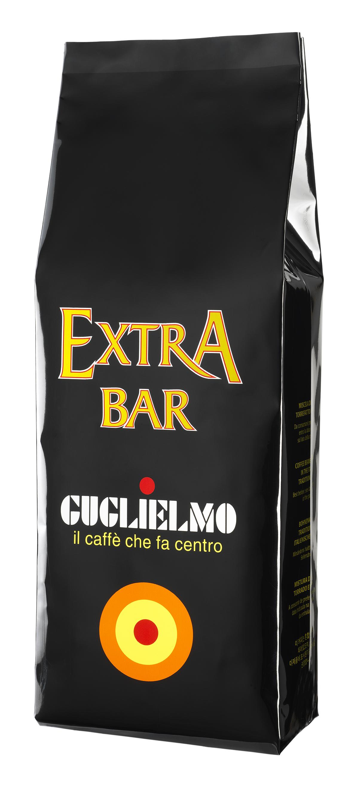 """Caffe """"Extra Bar"""", 1 kg Packung Guglielmo"""