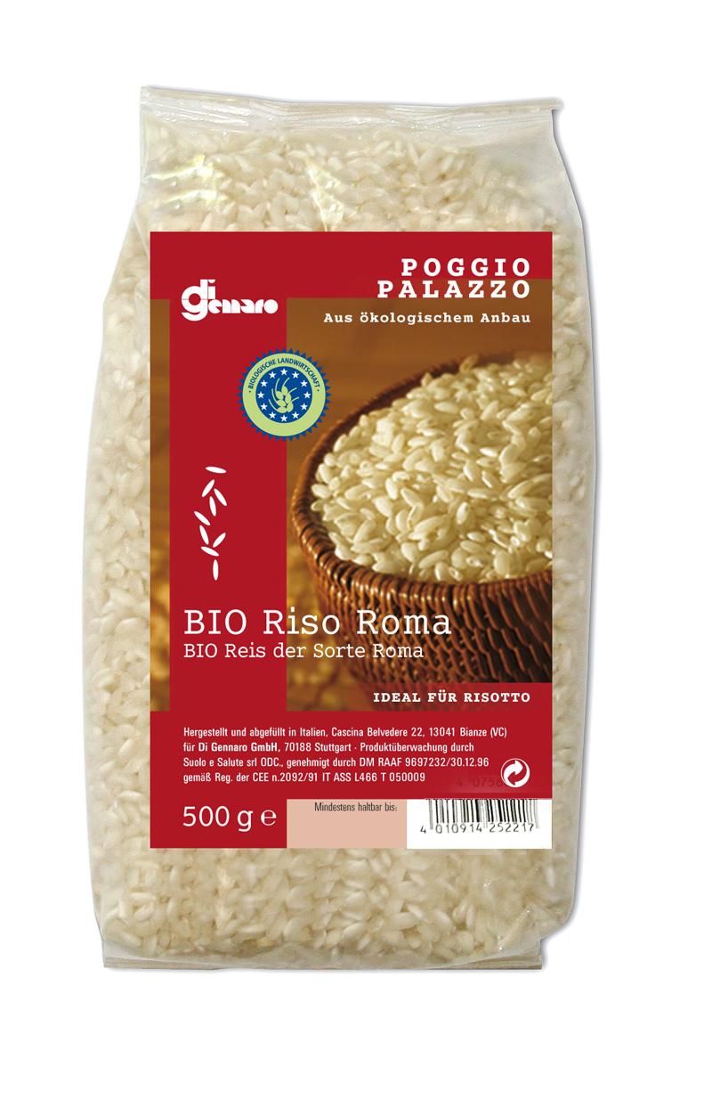 """""""Riso Roma"""" bio 500 g Belvedere"""