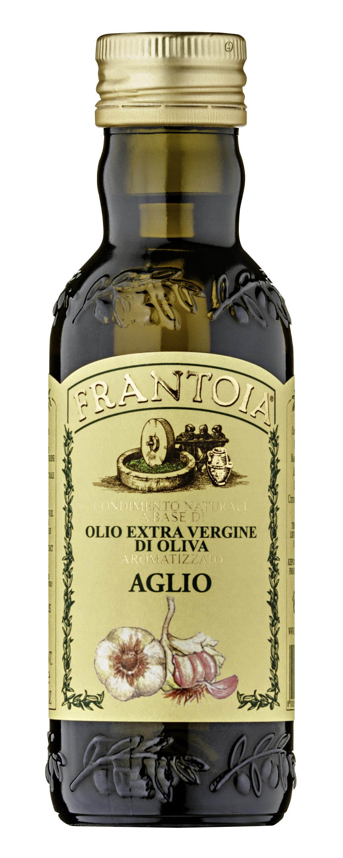 """""""Frantoia"""" olio e.v. aromatizzato all'aglio 250 ML Barbera"""